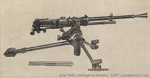 [WWII Japanese Model 01 (1941) Heavy Machine Gun]
