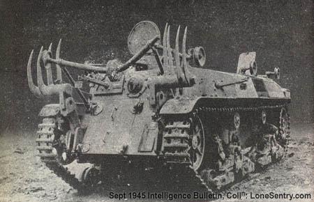 Japanese Tanks and AFVs of World War II: Flamethrower Tank