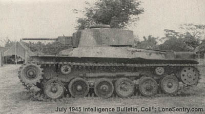 Japanese Tanks and AFVs of World War II: Type 97 Chi-Ha