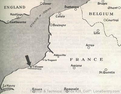 Lone Sentry Commando Raid on Varengeville France Dieppe August
