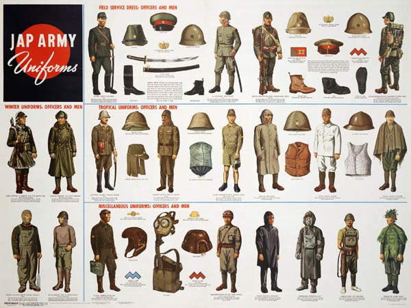 Japanese Army Uniforms of World War II
