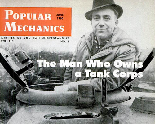 The Man Who Owns a Tank Corps