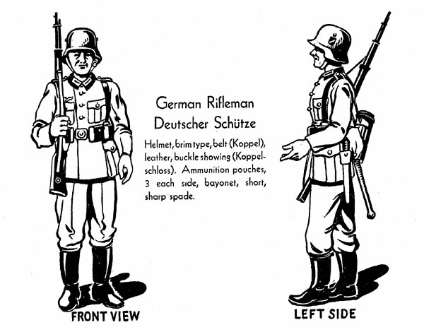 German Rifleman Uniform WW2