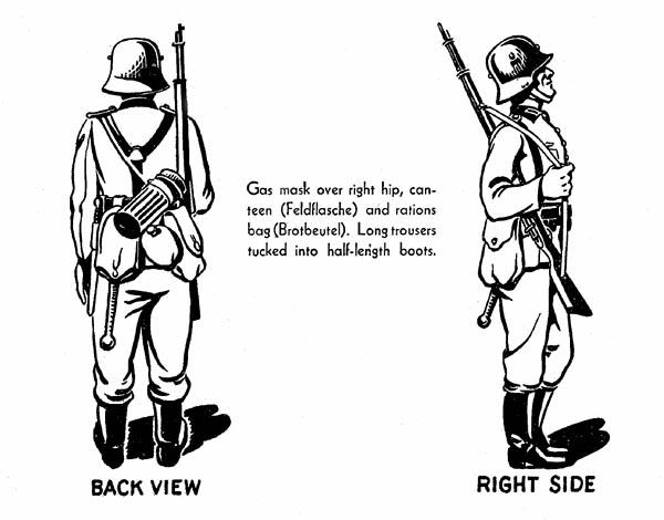 German Rifleman Uniform WW2