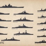 U.S. Navy Ship Silhouettes