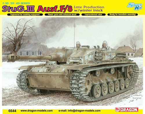 Dragon Model Kit 6644: StuG. III Ausf. F/8