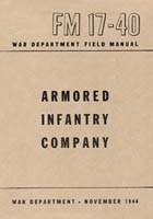 FM 17-40 Armored Infantry Company