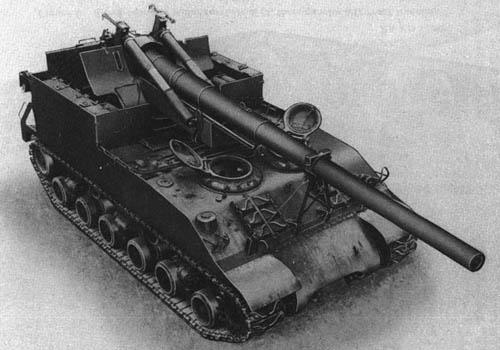 155-mm Gun Motor Carriage M40