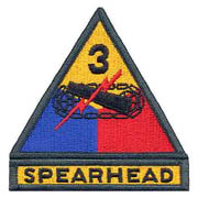 3rd Armored Division Spearhead Shoulder Patch