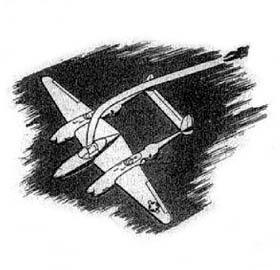 P-38 Lightning Pilot Bailout
