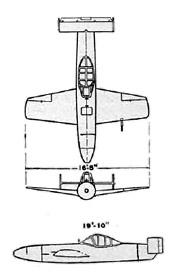 Diagram: Baka Flying Warhead: Yokosuka MXY-7 Ohka Kamikaze Rocket Plane