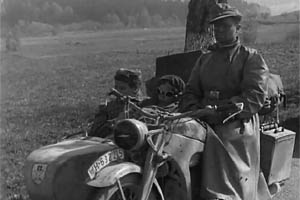 German Motorcycle Rider