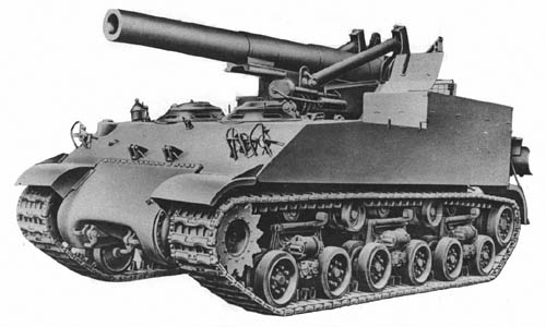M43 Gun Motor Carriage