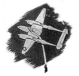 P-38 Lightning Pilot Bail Out