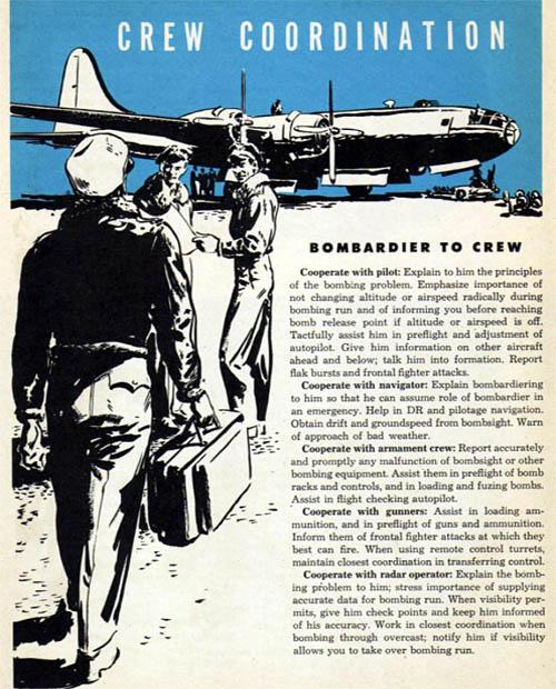 Bombardier Duties: Bombardier to Crew