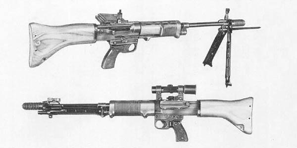 FG42 Automatic Rifle - Fallschirmjägergewehr 42