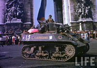 French Light Tank, Paris, August 1944