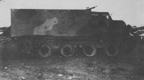 Japanese Type 1 Ho-Ki APC Armored Personnel Carrier