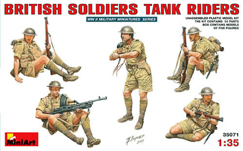 MiniArt British Desert Tank Riders