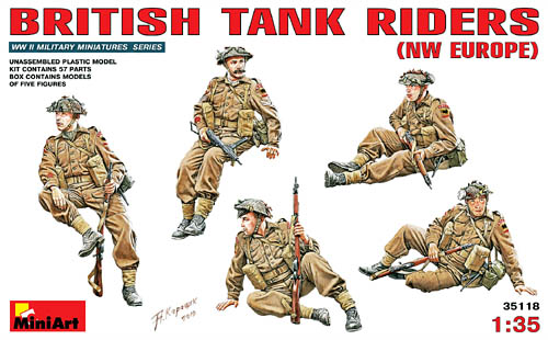 MiniArt British Tank Riders NW Europe