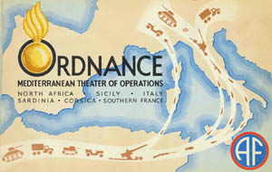 Ordnance WW2 Mediterranean Theater Operations