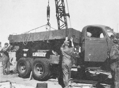 WW2 Ordnance Final Assembly of GMC CCKW Truck