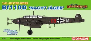 1/48th Scale Bf-110 Nachtjager 5561 - Me100 Night Fighter