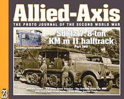 Issue No. 23 --- Allied-Axis: The Photo Journal of the WWII