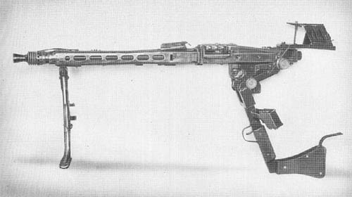 Deckungszielgerät für le. 34 u. 42 Dezetgerät: WWII Undercover Aiming and Firing Apparatus for MG34 and MG42