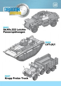 New 1/72nd Scale Armor Kits and Plastic Models