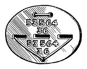 WWII Erkennungsmarke - German Dog Tag Disc