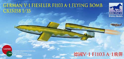 V-1 Bomb Fieseler Fi 103 A-1 Buzz Bomb