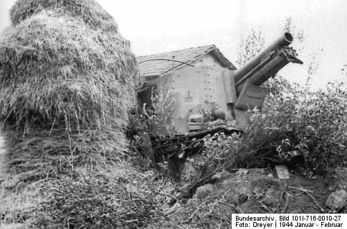 Grille 150-mm Self-Propelled Gun WW2