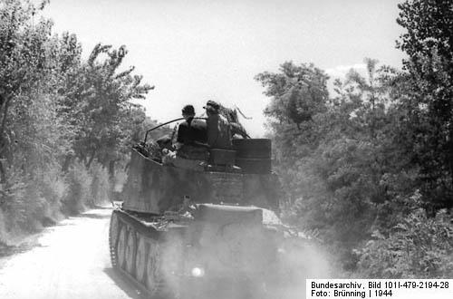 Grille SP Gun Artillery 150-mm Italian Front