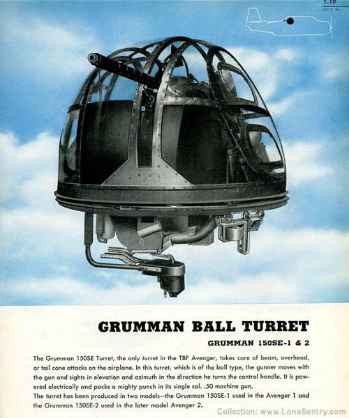Grumman Ball Turret - TBF Avenger