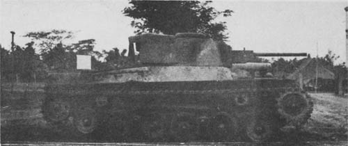 Improved Japanese Type 97 Tank Shinhoto Chi-Ha with 47mm Gun