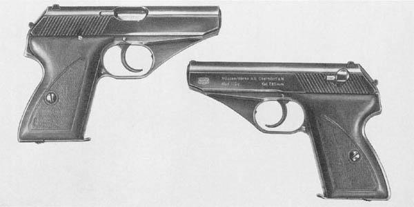 Mauser HSc Pistol - German WWII