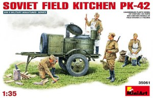 Miniart 35061 Soviet Field Kitchen PK-42 of WW2