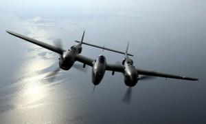 P-38 Lightning Color Photograph - Heritage Flight
