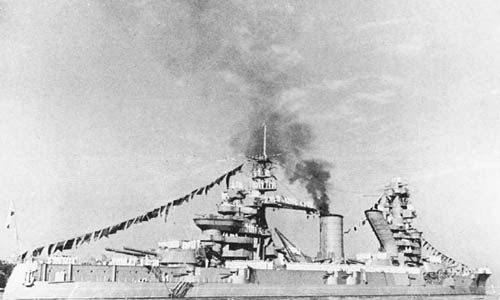 Russian Battleship Sevastopol - WW2 Russian Fleet