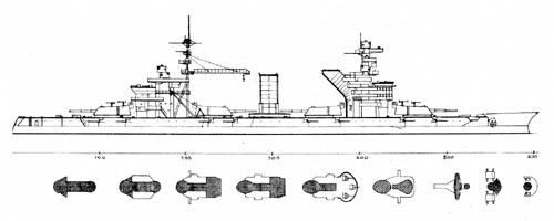Sevastopol Battleship Russia WW2