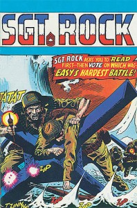 Sgt Rock and Easy Company -- DC Comic Books