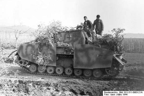 Sturmpanzer IV Brummbär in Italy -- Sturmpanzer-Abteilung 216, Italy