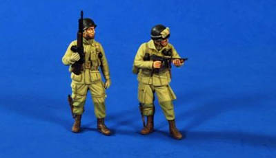 U.S. Airborne WW2 1/35th Figures Verlinden
