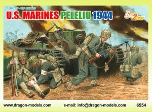 U.S. Marines Peleliu, 1944 (Dragon Model Kit Figures)