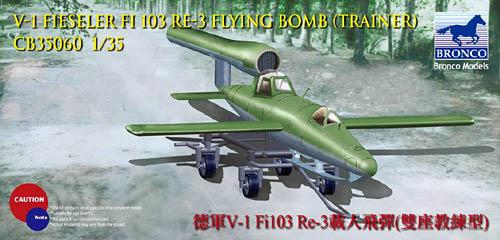 V-1 Bomb Fieseler Fi 103 Trainer Re-3 Reichenberg