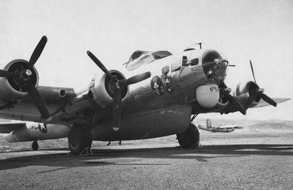 B-17H Flying Fortress Search and Rescue SB-17G with Radar and Boat