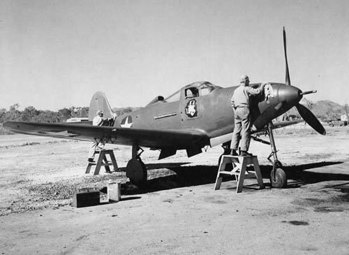Bell P-39 at 4th Air Depot in Australia