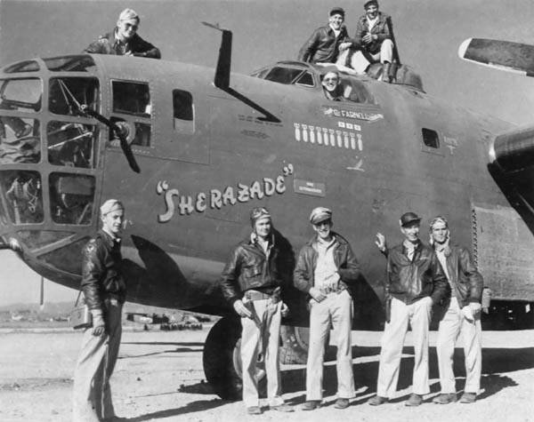 Consolidated B-24 Liberator Sherazade -- 425th Bomb Squadron, 308th Bomb Group, 14th Air Force