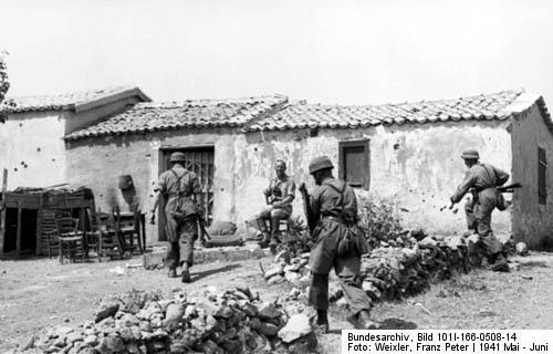 Crete (Kreta) Fallschirmjaeger, WW2 Airborne Forces